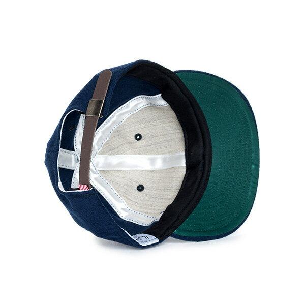 【EST】HERSCHEL RUNDLE 羊毛 後調式 棒球帽 藍 [HS-1009-038] F0819 2