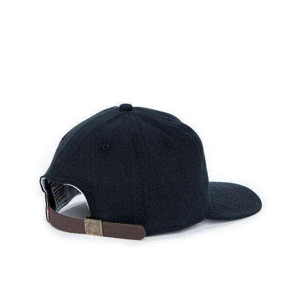 【EST】HERSCHEL WOODBINE 大H 後調式 棒球帽 黑 [HS-1010-016] F0819 1