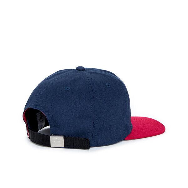 【EST】HERSCHEL ALBERT 後調式 棒球帽 拼色 藍紅 [HS-1020-026] F0819 1