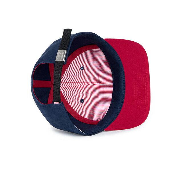 【EST】HERSCHEL ALBERT 後調式 棒球帽 拼色 藍紅 [HS-1020-026] F0819 2