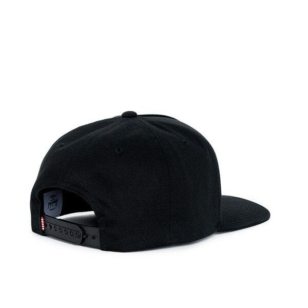 【EST】HERSCHEL WHALER 經典LOGO 後扣 棒球帽 黑 [HS-1026-001] F0819 1