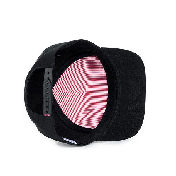 【EST】HERSCHEL WHALER 經典LOGO 後扣 棒球帽 黑 [HS-1026-001] F0819 2