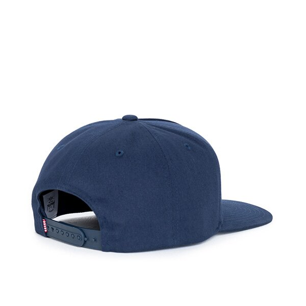 【EST】Herschel Whaler 經典Logo 後扣 棒球帽 深藍 [HS-1026-004] F0819 1