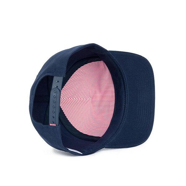 【EST】Herschel Whaler 經典Logo 後扣 棒球帽 深藍 [HS-1026-004] F0819 2