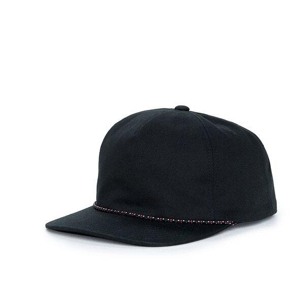 【EST】Herschel Cast 滾邊 後扣 棒球帽 黑 [HS-1027-113] F1023 0