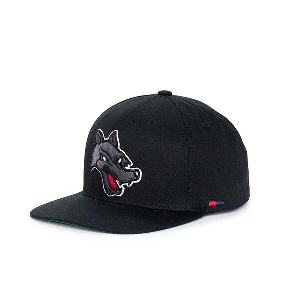 【EST】Herschel Team 刺繡 獵犬 後扣 棒球帽 黑 [HS-1038-098] F0819 0
