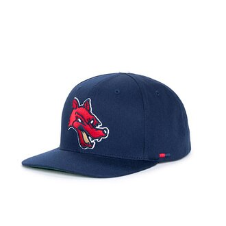 【EST】Herschel Team 刺繡 獵犬 後扣 棒球帽 藍 [HS-1038-099] F0819