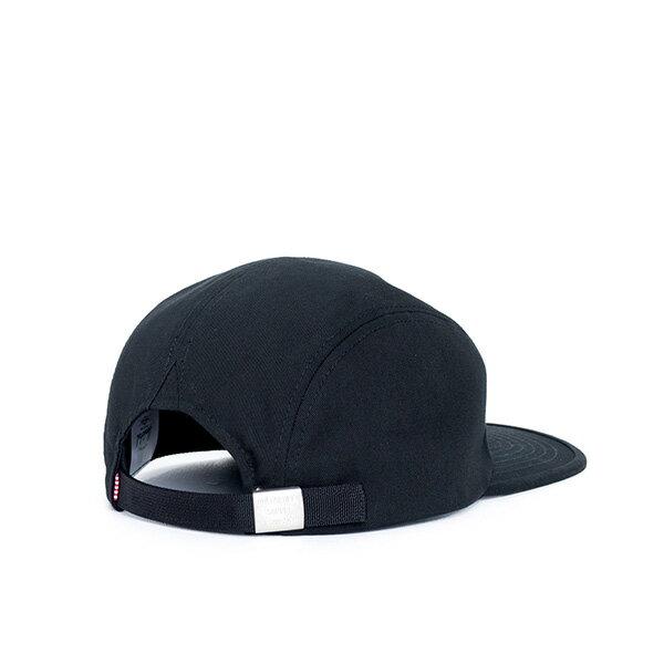 【EST】Herschel Owen Logo 後調式 四分割帽 棒球帽 黑 [HS-1040-001] F0819 1