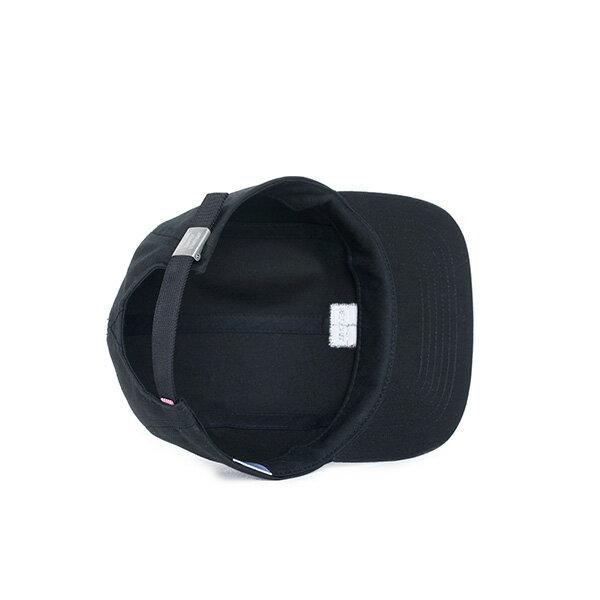 【EST】Herschel Owen Logo 後調式 四分割帽 棒球帽 黑 [HS-1040-001] F0819 2