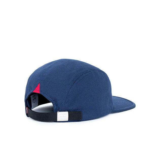 【EST】HERSCHEL OWEN LOGO 後調式 四分割帽 棒球帽 深藍 [HS-1040-004] F0819 1