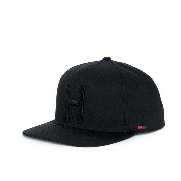 【EST】Herschel Toby 大h 後扣 棒球帽 黑 [HS-1041-001] F1023 0