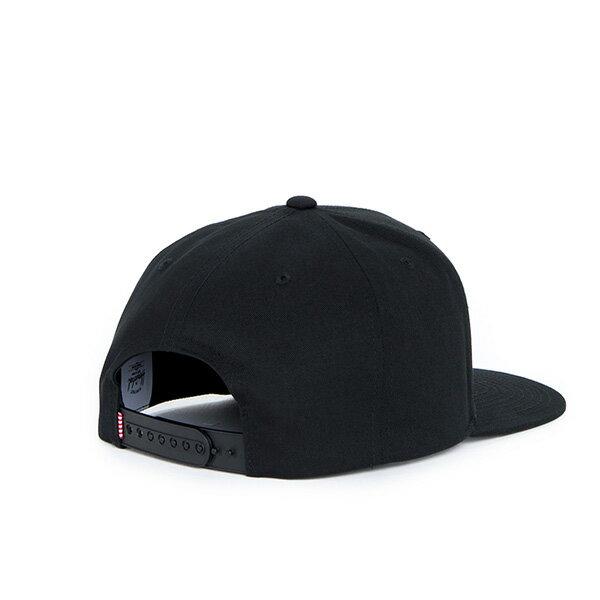 【EST】Herschel Toby 大h 後扣 棒球帽 黑 [HS-1041-001] F1023 1