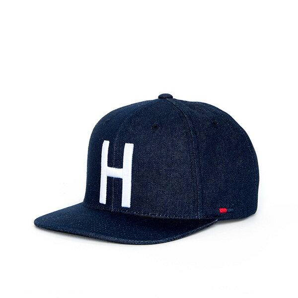 【EST】Herschel Toby 大h 牛仔布 後調式 棒球帽 丹寧 [HS-1041-031] F0819 0
