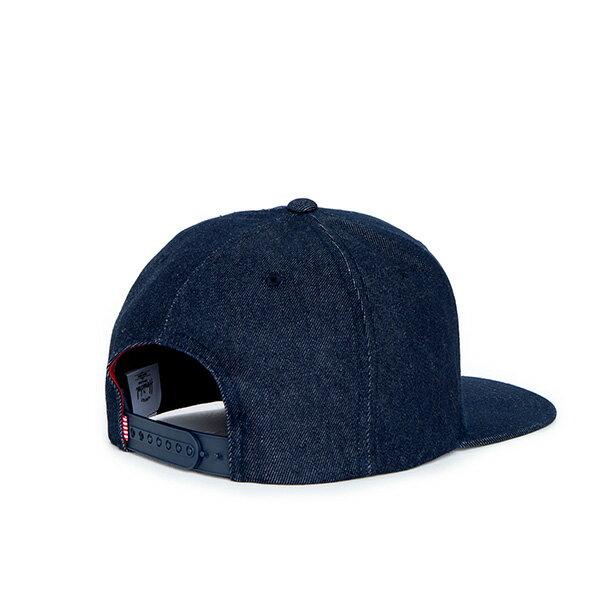 【EST】Herschel Toby 大h 牛仔布 後調式 棒球帽 丹寧 [HS-1041-031] F0819 1