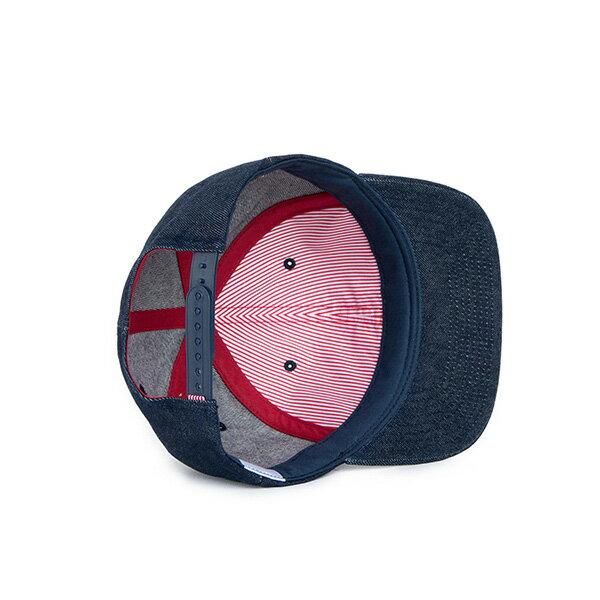 【EST】Herschel Toby 大h 牛仔布 後調式 棒球帽 丹寧 [HS-1041-031] F0819 2