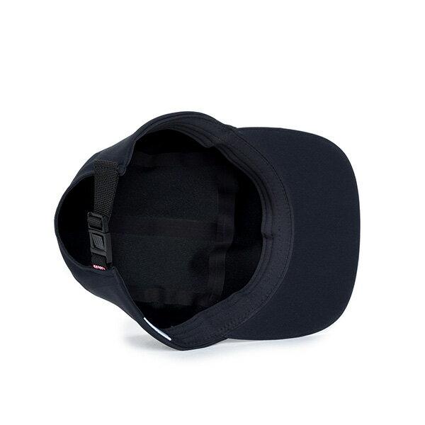 【EST】Herschel Glendale 無縫線 後扣式 五分割帽 黑 [HS-1042-075] F0819 2