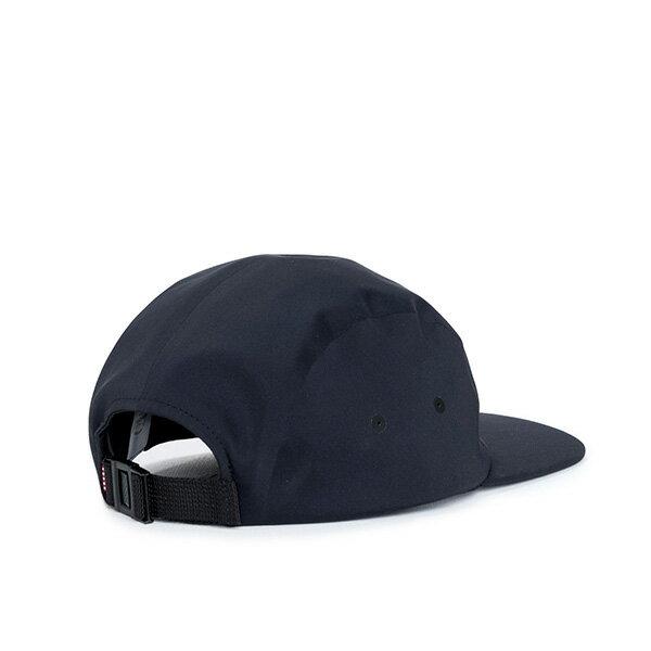 【EST】HERSCHEL OWEN 無縫線 後扣式 四分割帽 黑 [HS-1043-075] F0819 1