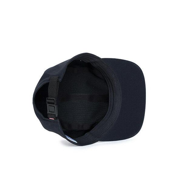 【EST】HERSCHEL OWEN 無縫線 後扣式 四分割帽 黑 [HS-1043-075] F0819 2