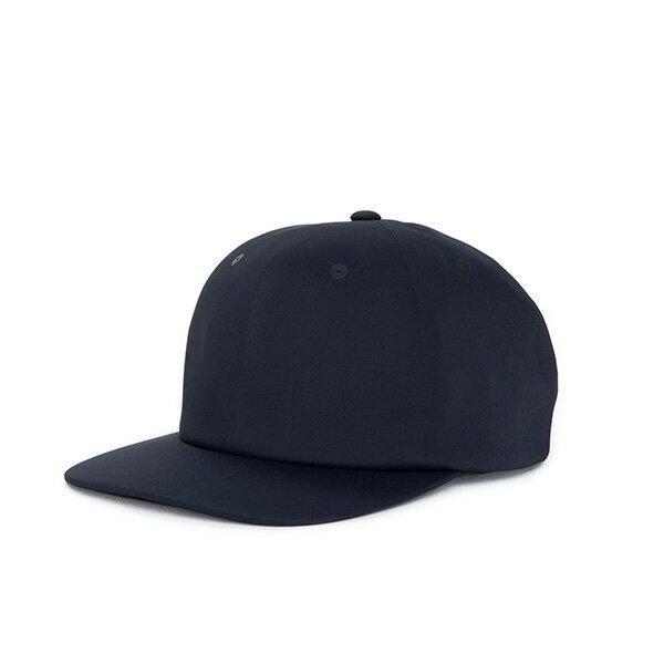 【EST】HERSCHEL ALBERT 無縫線 後扣式 棒球帽 黑 [HS-1044-075] F0819 0