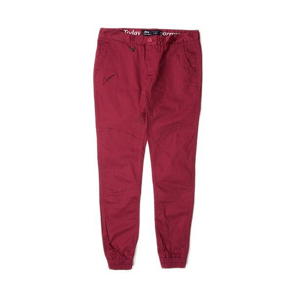 【EST】Publish Lexie Maroon 女款 工作褲 長褲 束口褲 酒紅 [PL-5349-072] F0917 0