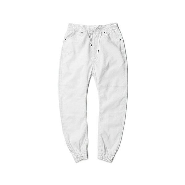 【EST】PUBLISH ARCH JOGGER 抽繩 綁帶 長褲 工作褲 束口褲 白 [PL-5351-001] F1002 0