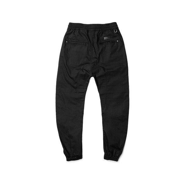 【EST】Publish Arch Jogger 抽繩 綁帶 長褲 工作褲 束口褲 黑 [PL-5351-002] F1002 1