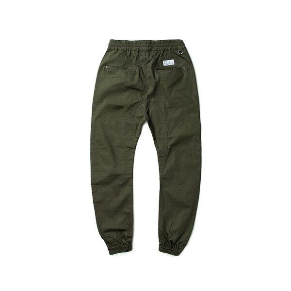 【EST】Publish Arch Jogger 抽繩 綁帶 長褲 工作褲 束口褲 軍綠 [PL-5351-035] F1002 1