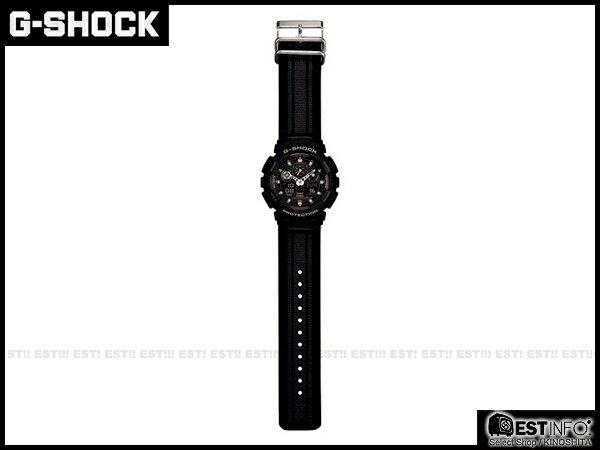 【EST O】G-Shock Baby-G Casio GA-100 卡西歐 防水 大錶面 潮流 手錶 [GA-100MC-1A] 黑 E0221 1