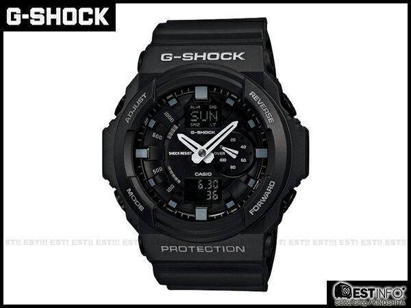 【EST O】G-Shock Baby-G Casio GA-150 卡西歐 防水 賽車 大錶面 手錶 [GA-150-1A] 黑 E0221