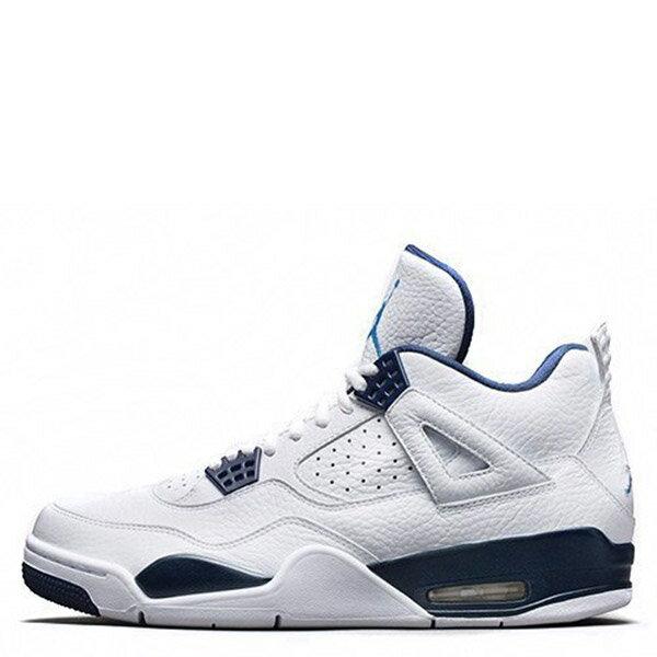 【EST O】Nike Air Jordan 4 Retro Bg AJ4 哥倫比亞 傳奇藍 男鞋 314254-107 F0513