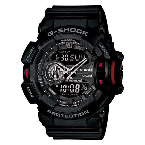 【EST O】G-Shock 雙顯 指針 潮流 男錶 手錶 [GA-400-1BJF] 黑 F0327 0