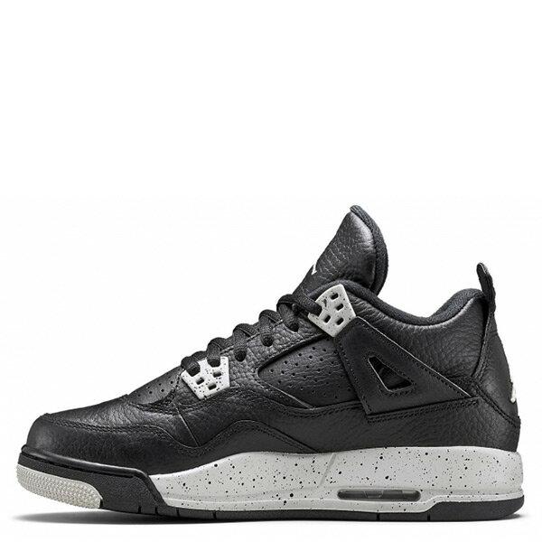 【EST O】Nike Air Jordan 4 Retro Bg Oreo Aj4 奧利奧 潑墨 女鞋 [408452-003] F0513