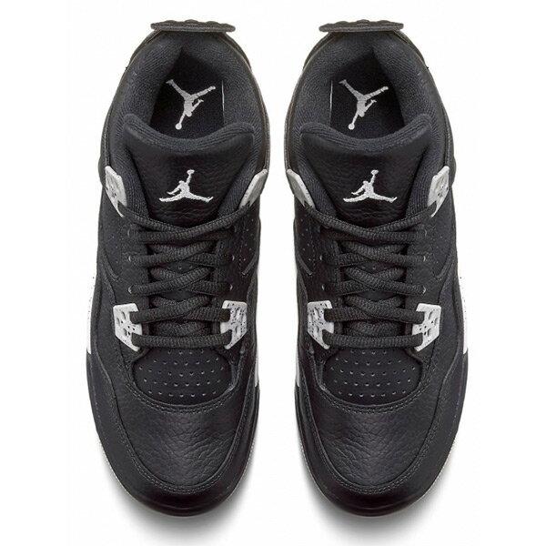 【EST O】Nike Air Jordan 4 Retro Bg Oreo Aj4 奧利奧 潑墨 女鞋 [408452-003] F0513 2