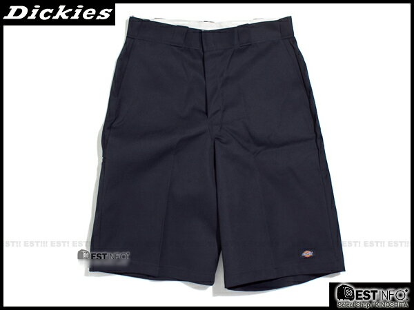 "【EST】美版 Dickies 42-283 13"" Loose Fit Work Short 工作 短褲 深藍 [DK-5002-086] E0613"