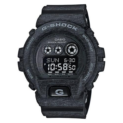 【EST O】G-Shock 日本限定 針織 木紋 大錶面 手錶 [GD-X6900HT-1JF] 黑 F0327 0
