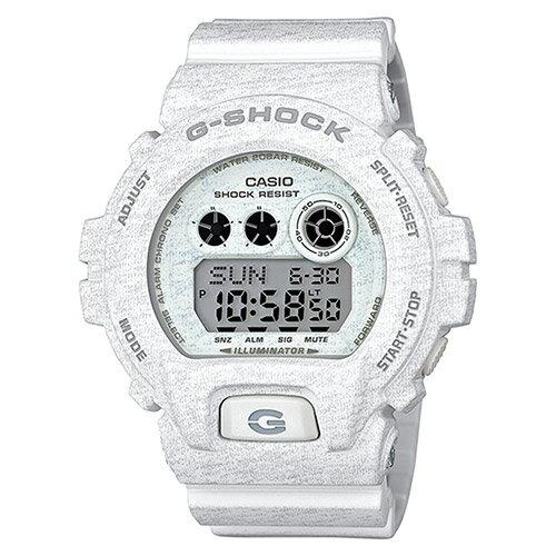 【EST O】G-Shock 日本限定 針織 木紋 大錶面 手錶 [GD-X6900HT-7JF] 白 F0327 0