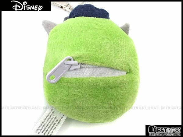 【EST】Disney 日本 迪士尼 大眼怪 大眼仔 怪獸大學 小錢包 鑰匙圈 吊飾 單眼怪 [DS-4003-035] E0305 1