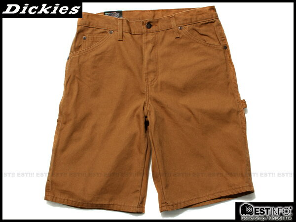 "【EST】美版 Dickies Dx201 11"" Relaxed Fit Carpenter Short 工作 短褲 Dk-5004 棕/灰綠 [DK-5004-XXX] E1016 0"