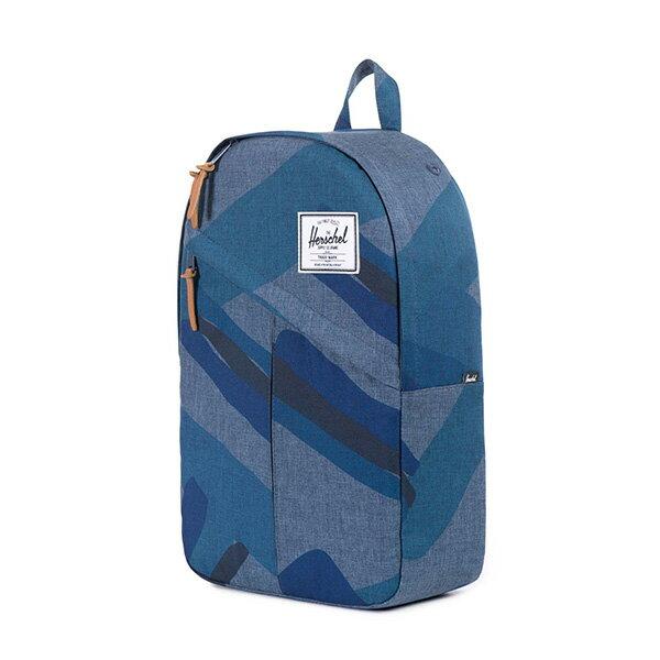 【EST】Herschel Parker 斜拉鍊 15吋電腦包 後背包 水墨 藍 [HS-0003-705] F0421 2