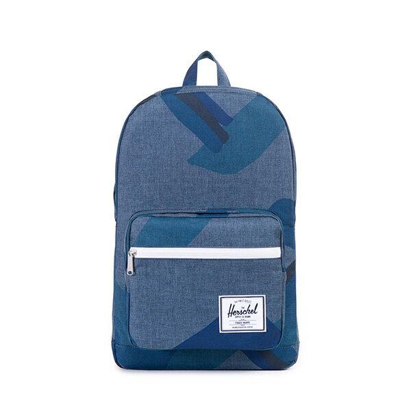 【EST】HERSCHEL POP QUIZ 15吋電腦包 後背包 水墨 藍 [HS-0011-705] F0421 0