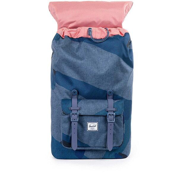 【EST】HERSCHEL LITTLE AMERICA 15吋電腦包 後背包 水墨 藍 [HS-0014-705] F0421 1