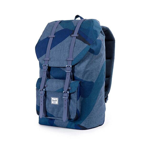【EST】HERSCHEL LITTLE AMERICA 15吋電腦包 後背包 水墨 藍 [HS-0014-705] F0421 2