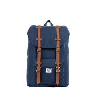 【EST】HERSCHEL LITTLE AMERICA MID 中款 13吋電腦包 後背包 藍 [HS-0020-007] F0810