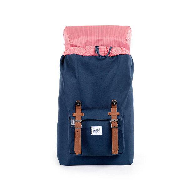 【EST】HERSCHEL LITTLE AMERICA MID 中款 13吋電腦包 後背包 藍 [HS-0020-007] F0810 1