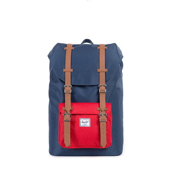 【EST】Herschel Little America Mid 中款 13吋電腦包 後背包 藍紅 [HS-0020-018] F0810 0
