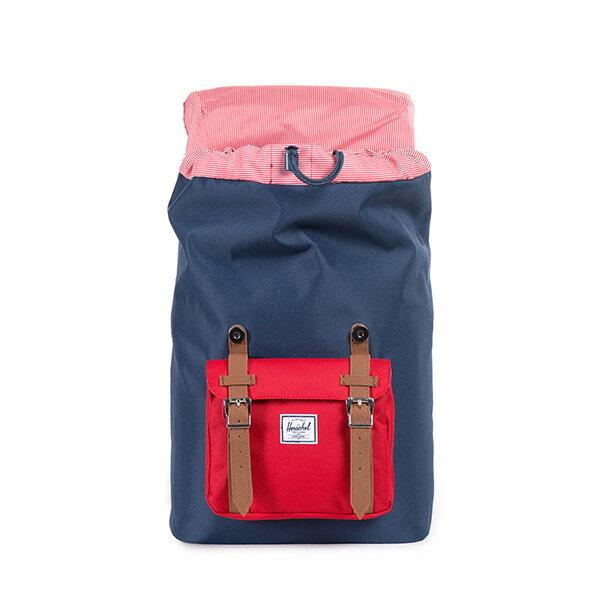 【EST】Herschel Little America Mid 中款 13吋電腦包 後背包 藍紅 [HS-0020-018] F0810 1