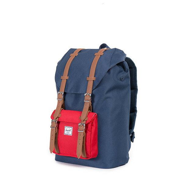 【EST】Herschel Little America Mid 中款 13吋電腦包 後背包 藍紅 [HS-0020-018] F0810 2