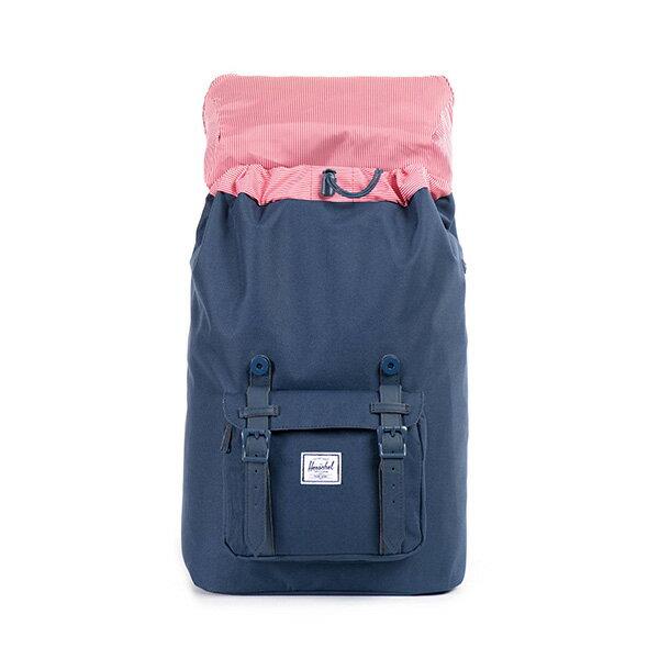 【EST】HERSCHEL LITTLE AMERICA MID 中款 13吋電腦包 後背包 全藍 [HS-0020-534] F0810 1