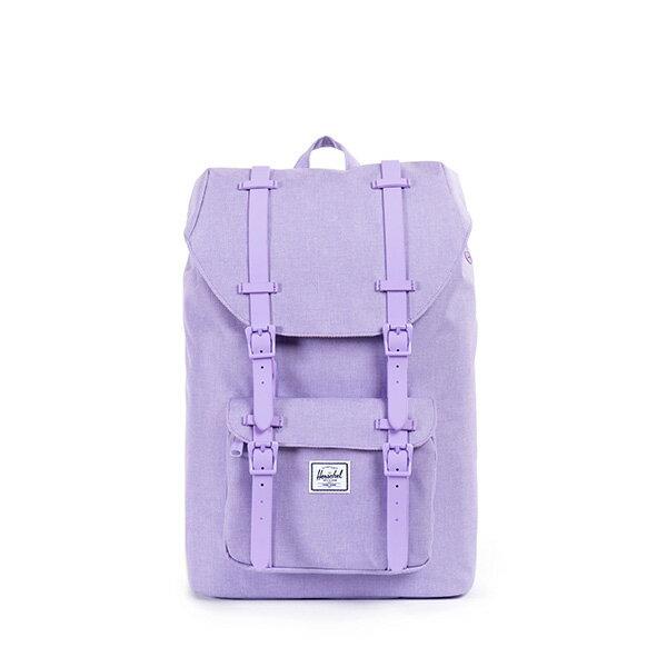 【EST】HERSCHEL LITTLE AMERICA MID 中款 13吋電腦包 後背包 淡紫 [HS-0020-707] F0421 0