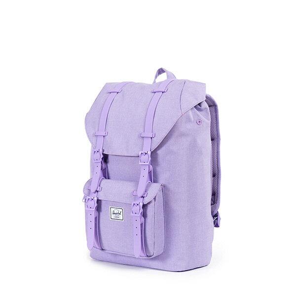 【EST】HERSCHEL LITTLE AMERICA MID 中款 13吋電腦包 後背包 淡紫 [HS-0020-707] F0421 2